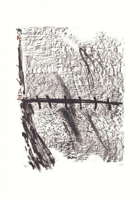 Antoni Tàpies, 'La Nuit grandissante', 1960-1970, ARTEDIO