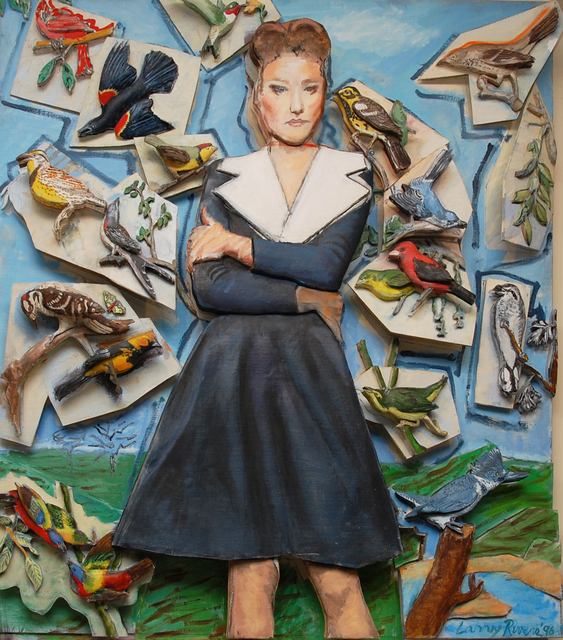 , 'Fashion and the Birds,' 1996, 101/EXHIBIT