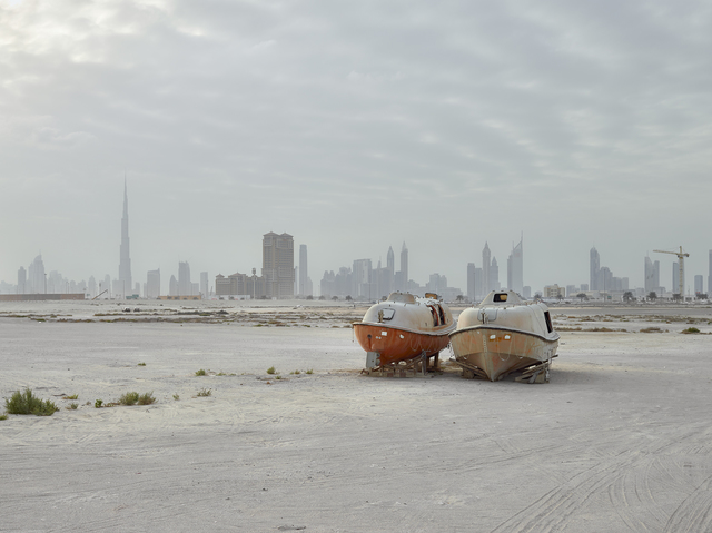 , 'Lifeboats, Al Jaddaf, Dubai (UAE),' 2015, Circuit Gallery