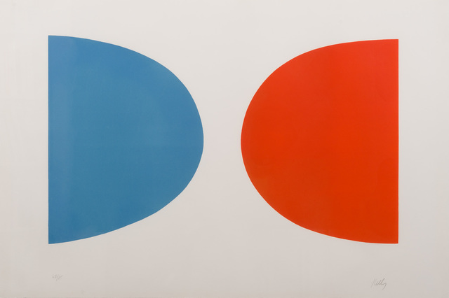 , 'Blue and Orange,' 1964, Susan Sheehan Gallery