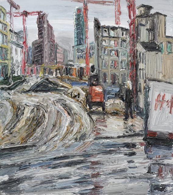 , 'Leipziger Platz,' 2013, GALERIE URS REICHLIN
