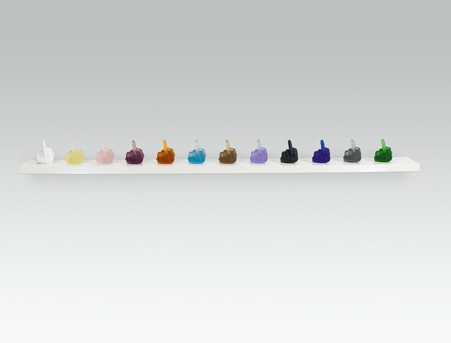 Ai Weiwei, 'Study of Perspective in Glass', 2018, Galerie Kovacek & Zetter