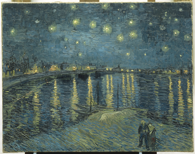 Vincent van Gogh, 'The Starry Night over the Rhone at Arles', 1888, Art Gallery of Ontario (AGO)
