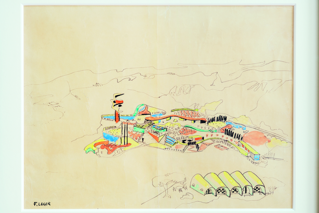 , 'Village Polychrome (Polychrome Village), Biot,' 1952-1953, Museum Ludwig