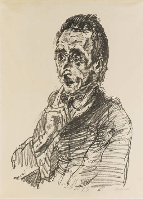 Oskar Kokoschka, 'Ivar von Lucken', John Moran Auctioneers