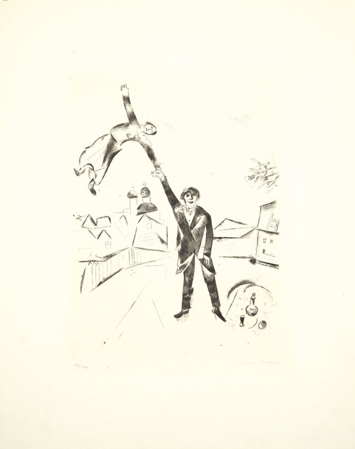 Marc Chagall, 'Der Spaziergang I, from Mein Leben', 1922, Christie's