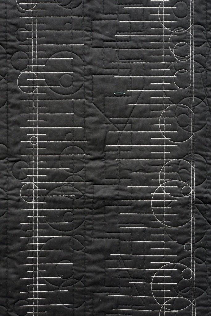 Detail of Generative Textile Drawing (lb1)