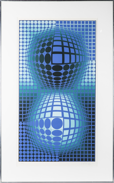 Victor Vasarely, 'Signed Lithograph Battor 1977 Limited After Original Painting', 1977, Modern Artifact