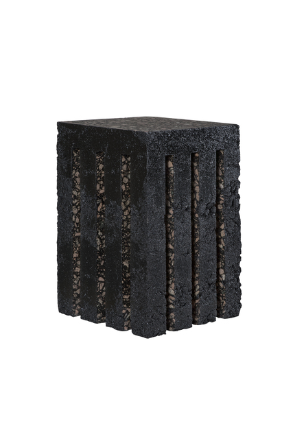 ", '""Black Gold Stool"",' 2015, Chamber"