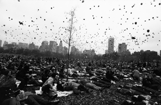 , 'Peace Demonstration, Central Park, New York,' 1970, Pace Gallery