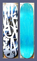 Original Limited Edition Skateboard (Blue)