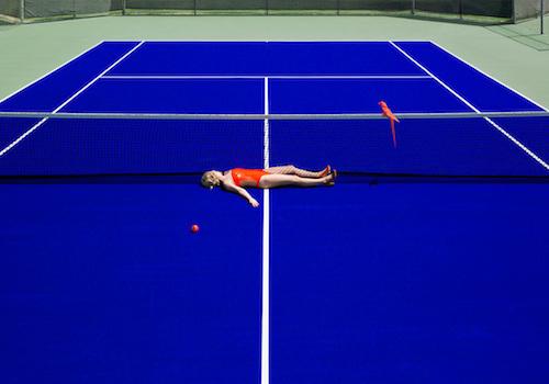 , 'Tennis,' 2017, Markowicz Fine Art