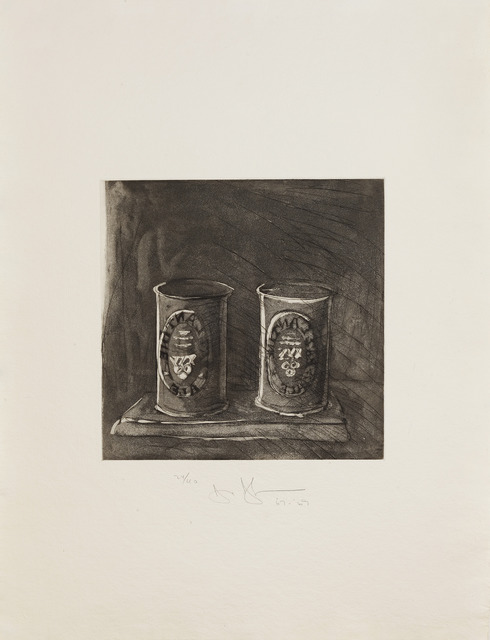 , 'Ale Cans (Large) From: '1st Etchings, 2nd State',' 1969, Sims Reed Gallery
