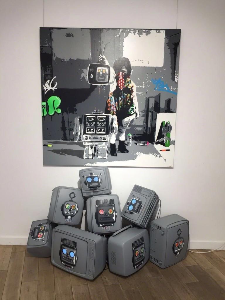 Kurar - Solo Show - Exhibition View - Modus Art Gallery & NextStreet Gallery
