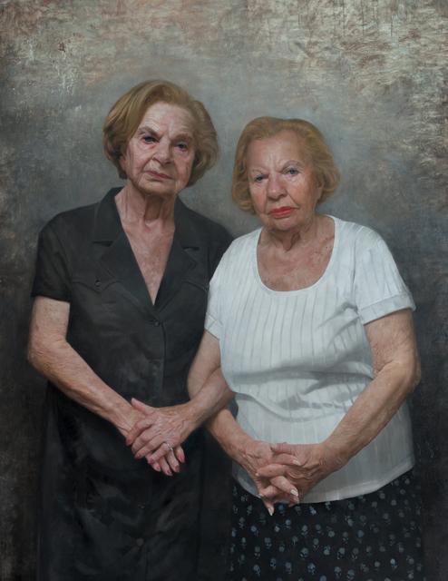 David Kassan, 'Twin Survivors Of The Holocaust; Roslyn and Bella', 2016, Gallery Henoch