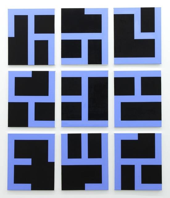 , 'Eviter le pire (black),' 2014, Tatjana Pieters