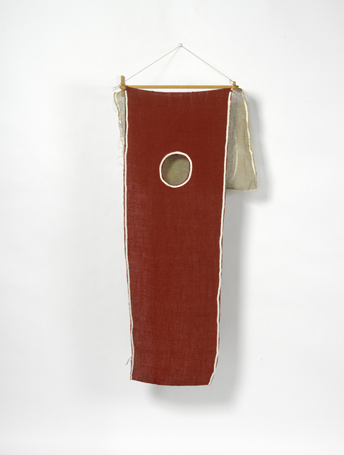 , 'Untitled (red wall hanging),' 1973, Paul Kasmin Gallery