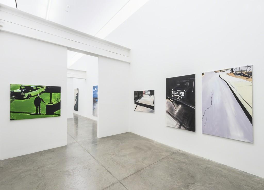 Koen van den Broek; Installation view, 2016. Photo: Adam Reich