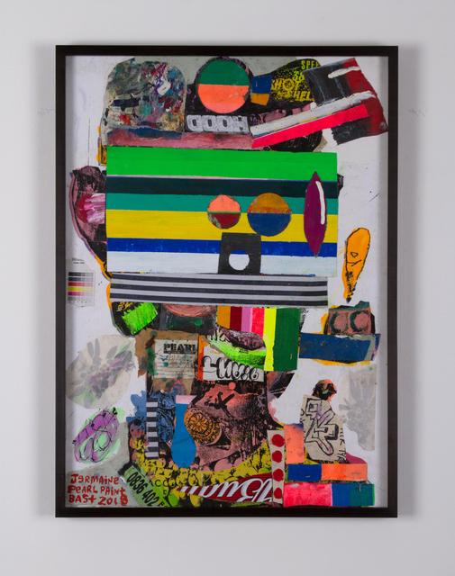 , 'Jermaine Pearl Paint,' 2018, agnès b. Galerie Boutique