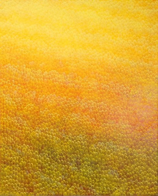 , 'Yellow Field,' 2018, ART MORA