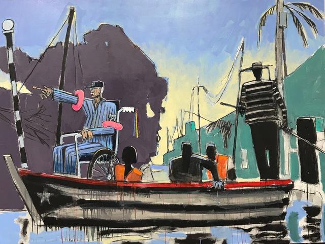 , 'McLeary Crossing,' 2019, Galería Petrus