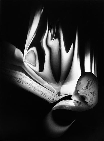 """, 'Score by Roland Moser 3  """"Kleines Exercitium zum Gedicht Kirchberg von Klaus Merz"""",' 1998, Bernheimer Fine Art"""