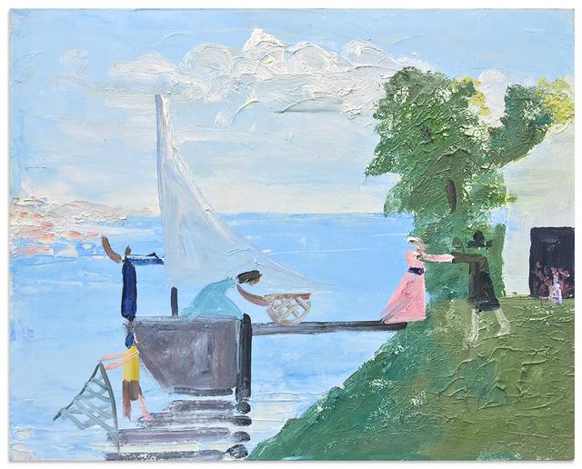 , 'Embarkation for Cythera,' 2016, Anna Zorina Gallery
