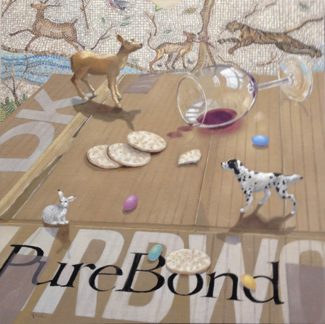 , 'Pure Bond,' 2015, Clark Gallery