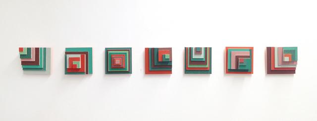 , 'Desplazamiento verde y rojo,' 2017, MARSO