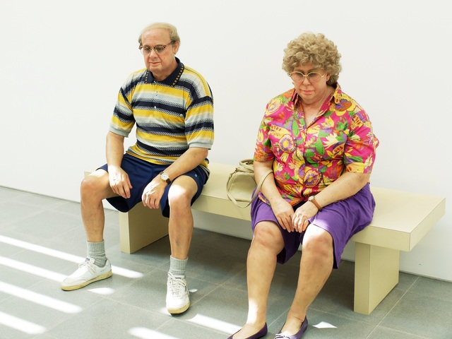 , 'Old Couple on a Bench,' 1994, Serpentine Galleries