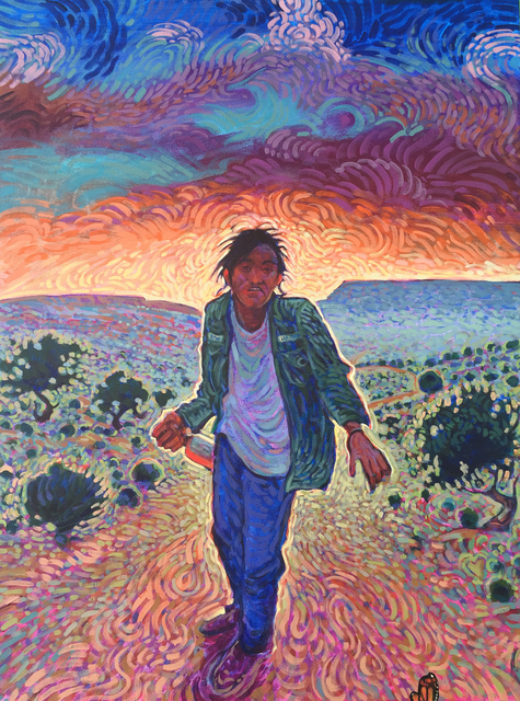 Shonto Begay, 'Cold Light of my Shadow', Modern West
