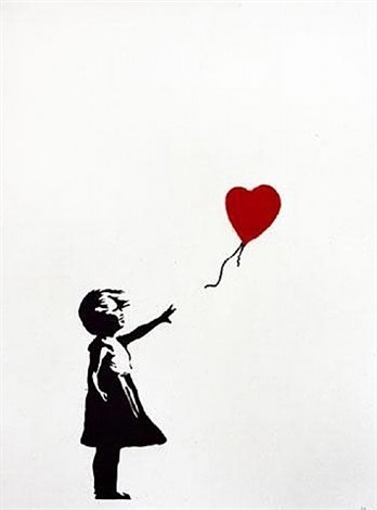 Banksy, 'Girl with Red Balloon (signed)', 2004, Contemporary Art Trader