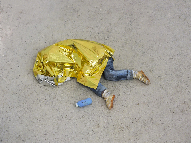 , 'Wellen (Schlafender - Gold),' 2017, Art Mûr