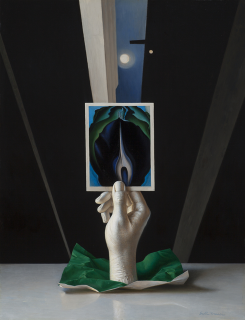 , 'Below the Moon (Georgia O'Keefe tribute),' , Somerville Manning Gallery