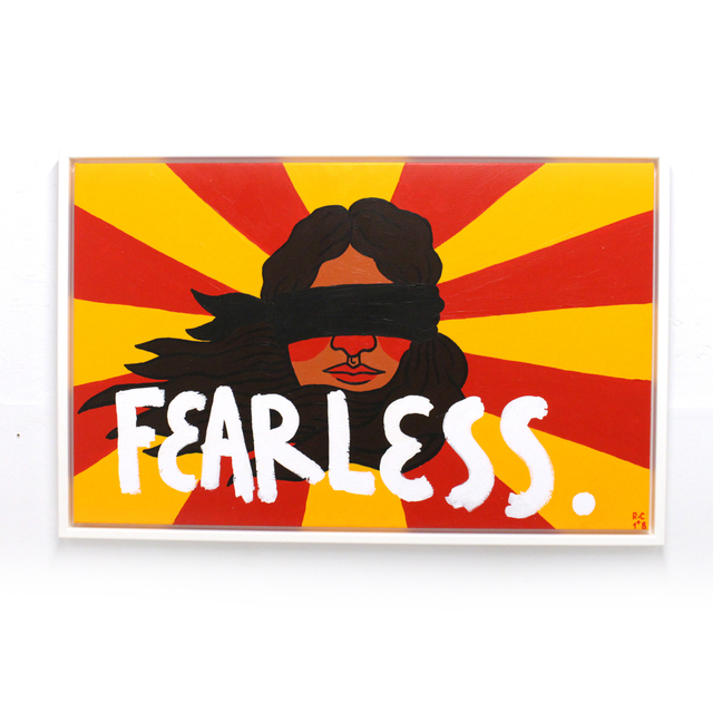 , 'Fearless,' 2018, Station 16 Gallery