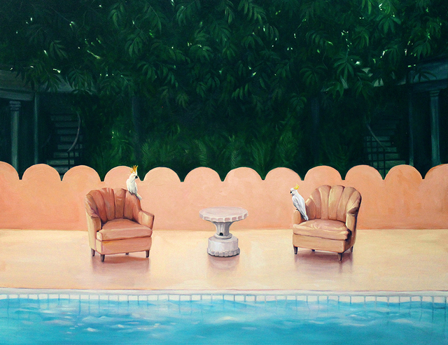 , 'Swimming pool on forest,' 2017, ART MORA