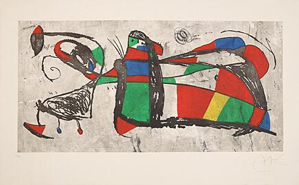 Joan Miró, 'Tres Joan', 1978, Galerie Boisseree
