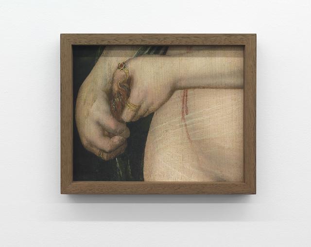, 'Still held Dribble of Blood,' 2018, Wil Aballe Art Projects | WAAP