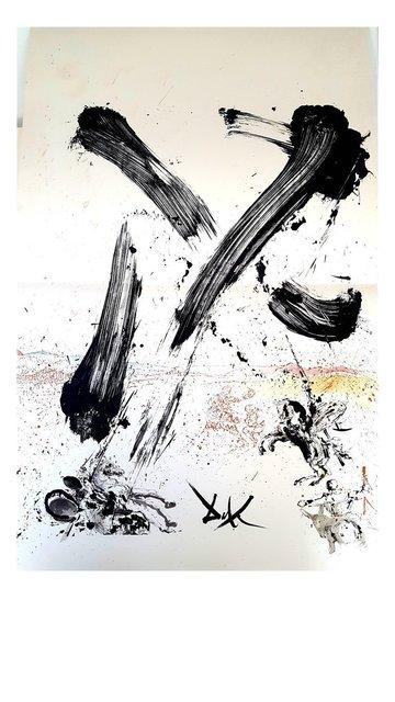 """Salvador Dalí, 'Original Lithograph """"Don Quixote VII"""" by Salvador Dali', 1957, Galerie Philia"""