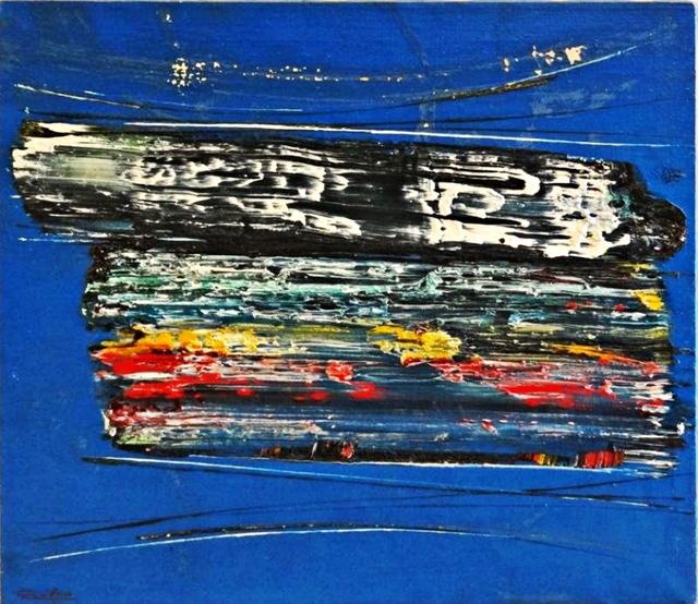 , 'BLUE COSMOS (with Martha Jackson Gallery Label),' ca. 1958, Alpha 137 Gallery