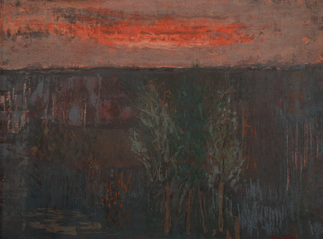 , 'Late Evening Landscape,' , Fort Worth Contemporary Arts