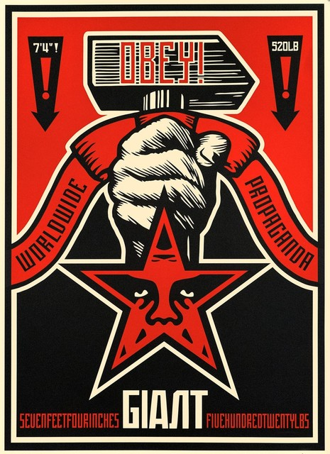 Shepard Fairey, 'Hammer', 2019, Print, Serigraph on Coventry Rag paper with hand-deckled edges, Samhart Gallery