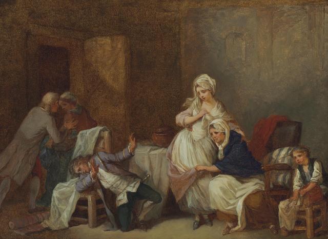 Etienne Aubry, 'Le fils fautif', Christie's Old Masters