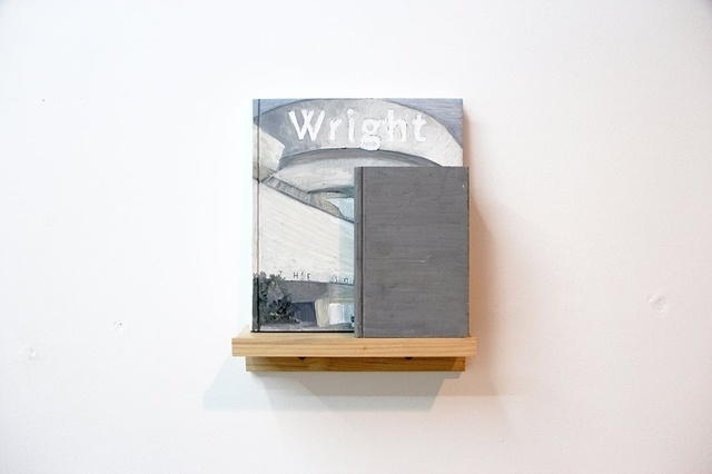 , 'Wright/ Whitman,' 2015, LAMB Arts