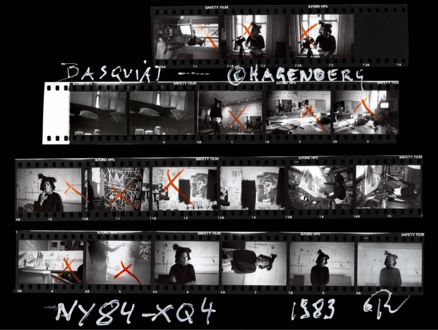 , 'Basquiat Contact Sheet,' 1983, Galerie Peter Sillem