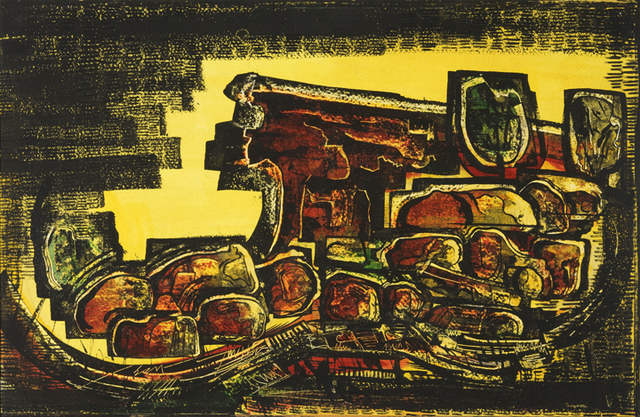 , 'Orange Rocks, Jacona,' 1953, Aaron Payne Fine Art
