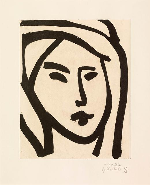 , 'Bédouine – souvenir de manon,' 1947, Miriam Shiell Fine Art