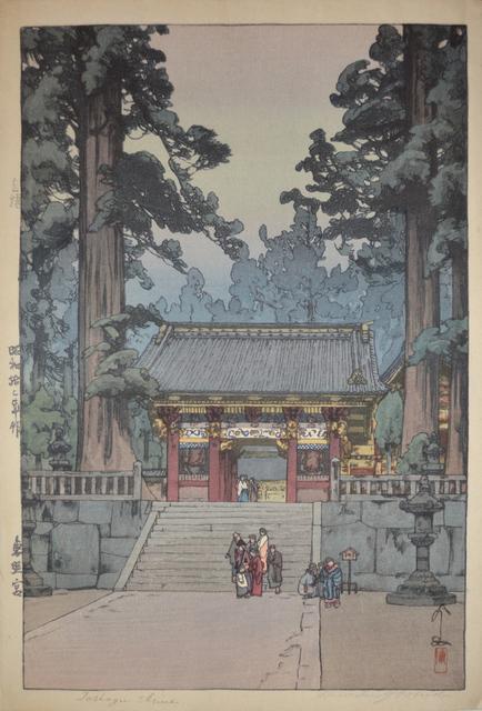 , 'Toshogu Shrine,' 1937, Ronin Gallery