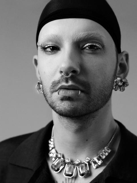 Bryan Guy Adams, 'Bill Kaulitz (Pierced Portrait)', 2017, CAMERA WORK