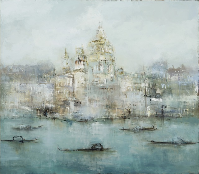 France Jodoin, 'The golden fog that rubs its back upon the window panes (part II)', 2018, Thompson Landry Gallery
